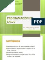 Programacion en Salud