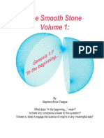 """The Smooth Stone Volume I Genesis 1:1 """"In the Beginning..."""""""