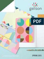 Galison Spring 15 Catalog