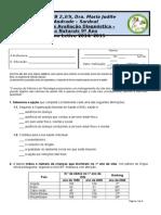 9A Avaliação Diagnóstica.doc