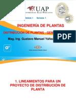 1.- Distribución de Plantas - Generalidades