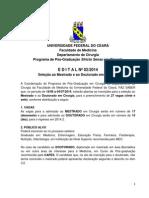 Edital 2014-02 Seleomestrado e Doutorado