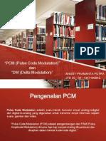 PCM and DM Presentation Go