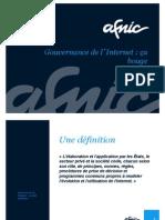 Pierre Bonis (AFNIC) et la gouvernance d'Internet