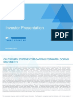 TPRE Investor Presentation Nov 2014 FINAL v2 v001 m5ih35 (1)