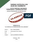 Cuestionario de Autoevaluación - Comunicación - Uladech - Btb
