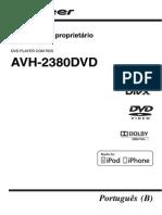 Manual Pioneer DVD 2380