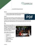 GVI Pez Maya Monthly Achievement Report October 2014