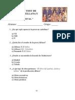 Examen Tipo Test Edad Media