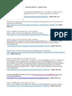 Leis Do Edital - Links
