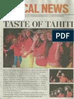 Taste of Tahiti