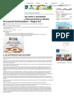 Diferenças Fundamentais Entre o Assistente Simples e o Assistente Litisconsorcial No Direito Processual Civil Brasileiro - Página 3:3 - Jus Navigandi