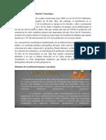 Características de La Población Venezolana Diorkis