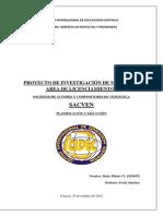 PROYECTO DE INVESTIGACIÓN DE MERCADOS AREA DE LICENCIAMIENTOS SOCIEDAD DE AUTORES Y COMPOSITORES DE VENEZUELA SACVEN