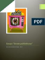 "Ensayo ""Evento publivíboras"""
