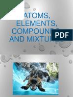 elementscompoundsmixtures