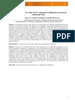 Avaliação Do Ciclo de Vida (ACV) Aplicações e Limitações No Setor Da