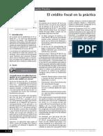 Utilizacion Credito Fiscal Factura Con Errores