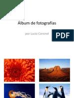 album de fotos practico 9