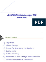 Audit Methodology ISO 90002000