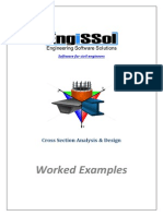 Cross Section Analysis and Design - Worked Examples