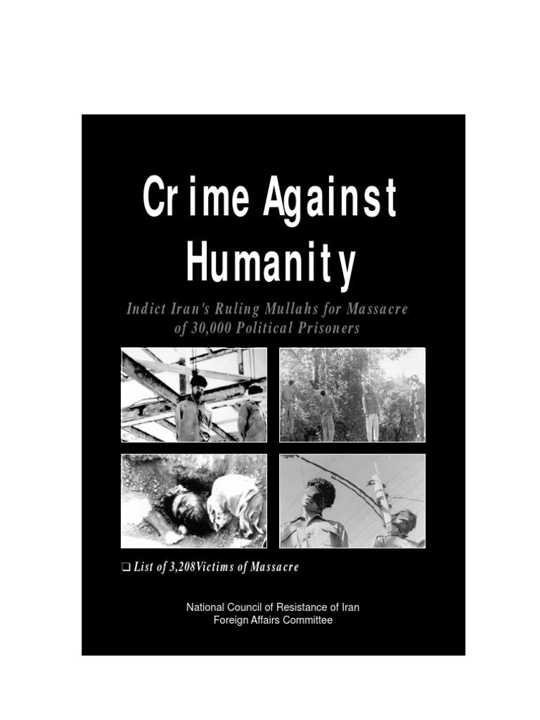 GENOCIDE VS. CRIMES AGAINST HUMANITY
