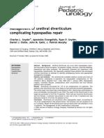 Management of Urethral Diverticulum