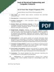 SOP for Proposal Defense