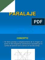 FOTOGRAMETRIA-PARALAJE