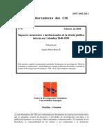 Impactos Monetarios e Institucionales de La Deuda Pública Interna en Colombia