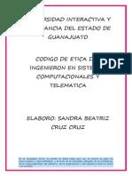 CODIGO DE ETICA INGENIERO EN SISTEMAS