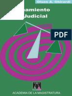 El razonamiento Judicial