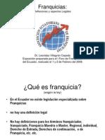 FRANQUICIA CLAUSULAS