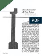 Basic Characteristics Of Cross Sections