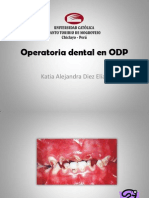 Operatoria Dental en ODP