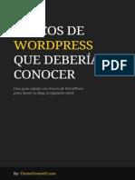30 Trucos Wordpress