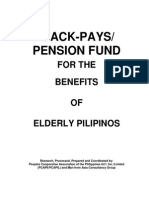 Back Pay Pension Funds