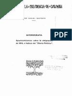 Biografia de José Manuel Restrepo
