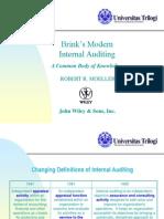 Brink's Modern Internal Auditing - Session 2
