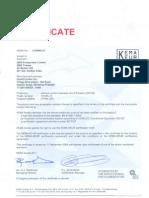 KEMA KEUR 2P certification