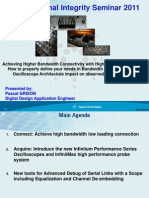 AGILENT Signal Integrity for Your Applications 2011