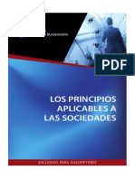 Los Principios de Las Sociedades