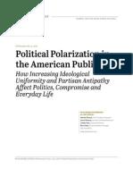 6 12 2014 Political Polarization Release