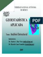 La Geoestadistica y Los Variogramas