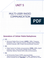Satellite and radio communication