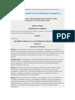 Reglamento de La Ley de Empresas de Seguros y Reaseguros