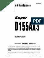 d155ax-3 operator manual