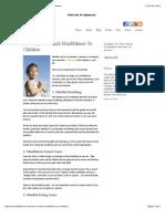 Six Ways to Teach Mindfulness to Children - Mrs. Mindfulness