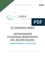 VI Consenso HPPRN SIBEN