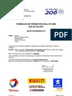 206 XS Volant 2006 info no3